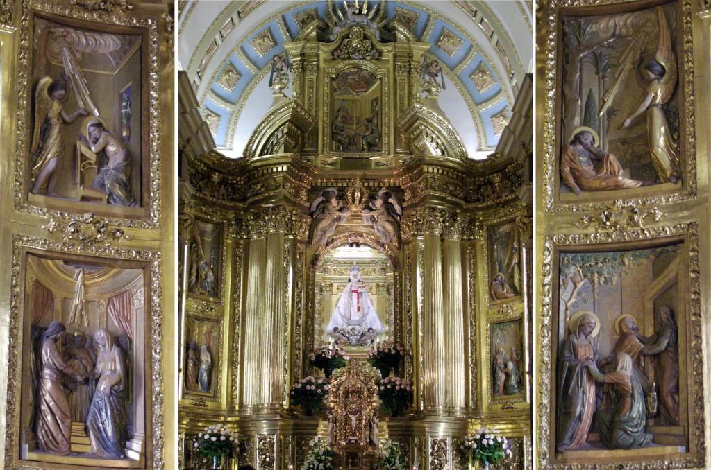 Composición retablo Santuario Virgen de la Fuensanta
