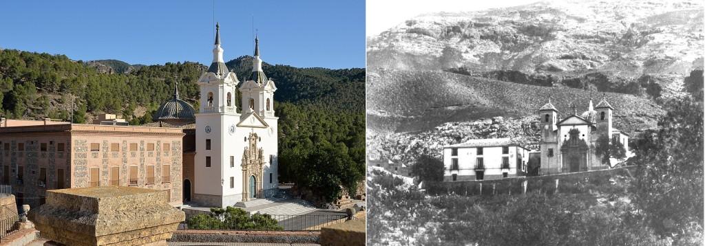 Santuario virgen de la Fuensanta antes y despues