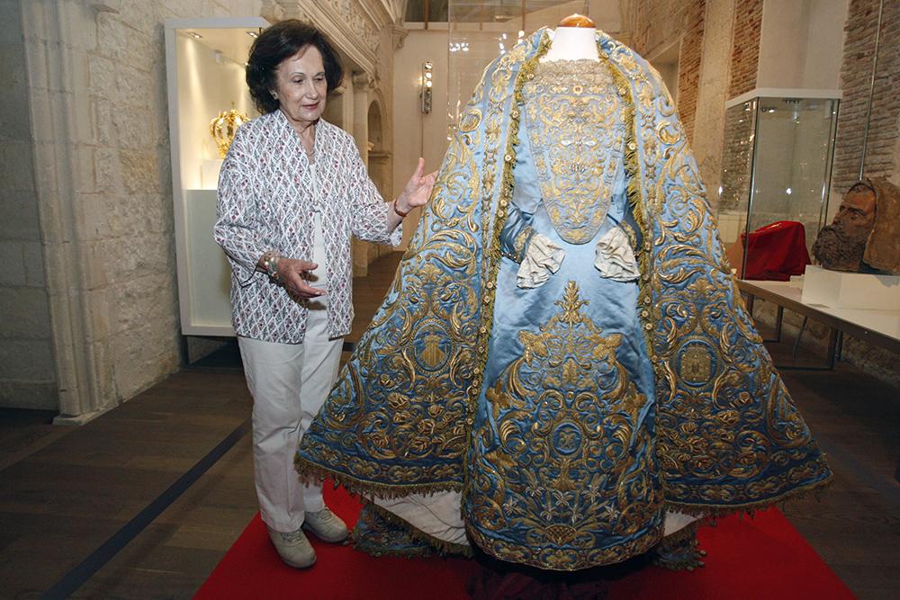 camarera de la Virgen, Foto de la Opinión de Murcia