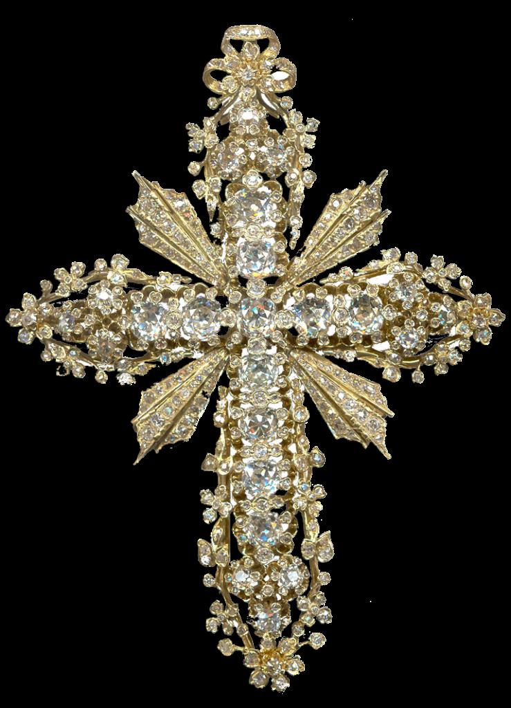 cruz obispo alguacil