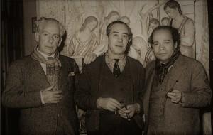 foto Pedro Flores con Gonzalez Moreno y Palencia