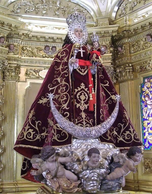 Manto Coronación Virgen de la Fuensanta