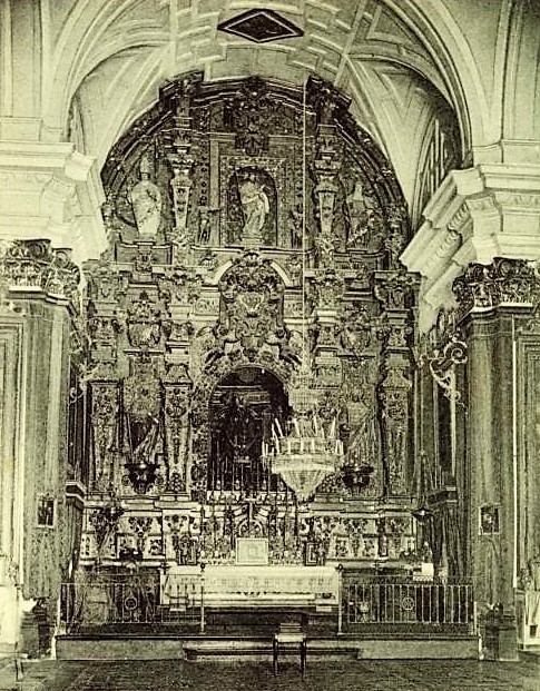 retablo Dupart del santuario de la Fuensanta