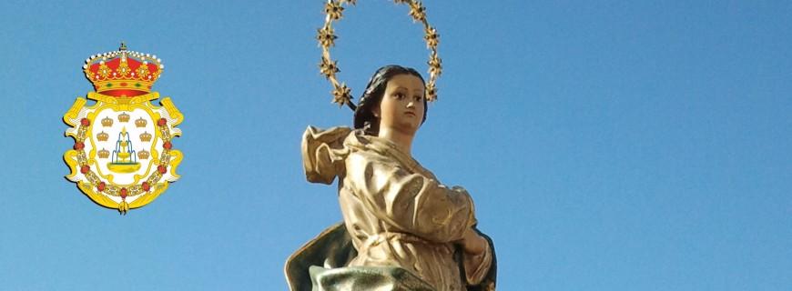Hoy, 8 de Diciembre, la Iglesia Católica, y en especial el pueblo español, celebra la festividad de la Inmaculada Concepción de María.